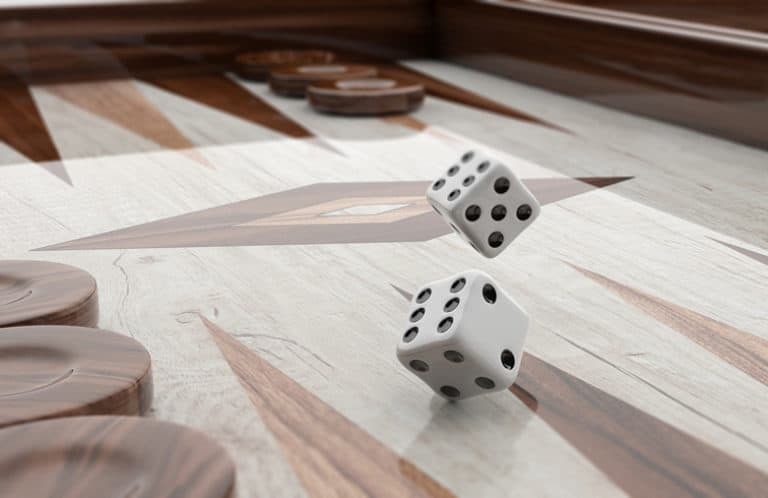 simple rules of backgammon