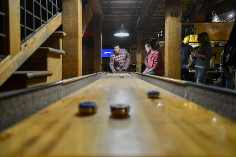 shuffleboard table rules simple