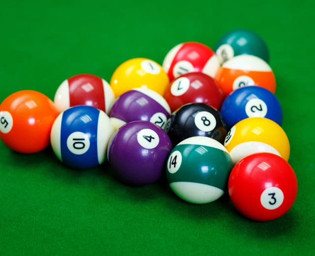 how to rack pool balls