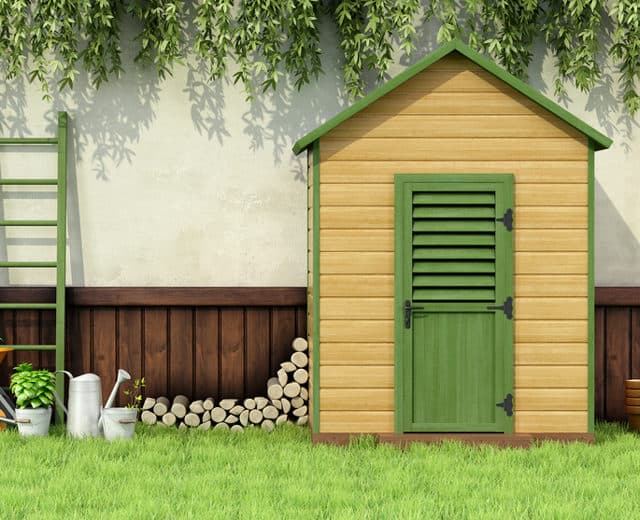 best yard game shed
